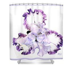 Pretty Baby Iris Shower Curtain