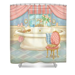 Pretty Bathrooms II Shower Curtain
