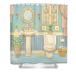 Pretty Bathrooms Iv Shower Curtain