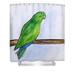 Pretty Boy Shower Curtain by Clyde J Kell