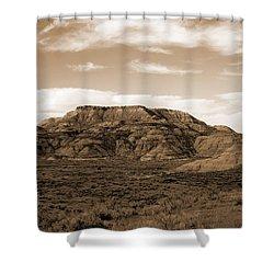 Pretty Butte Shower Curtain