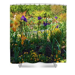 Pretty Flowers Shower Curtain