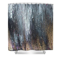 Pretty Hurts Shower Curtain by Cyrionna The Cyerial Artist