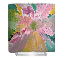 Pretty In Pastels Shower Curtain