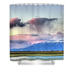 Shower Curtain featuring the photograph Pretty In Pink by Bryan Carter