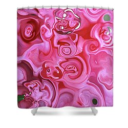 Shower Curtain featuring the photograph Pretty In Pink by JoAnn Lense