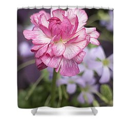 Pretty In Pink Shower Curtain by Morris  McClung