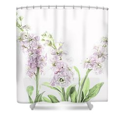 Shower Curtain featuring the photograph Pretty In Pink by Rebecca Cozart