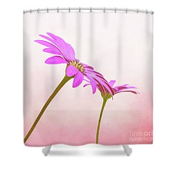 Pretty In Pink Shower Curtain by Roy McPeak