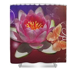 Pretty Items Shower Curtain