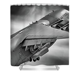 Pretty Light On His Feet Shower Curtain