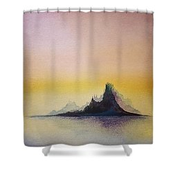 Pretty Little Island Shower Curtain