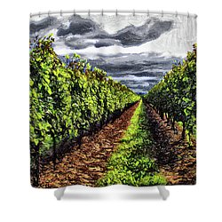 Pretty Maids All In A Row Shower Curtain
