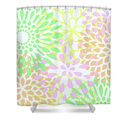 Pretty Pastels Shower Curtain