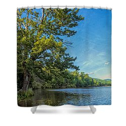 Price Lake Shower Curtain by Swank Photography