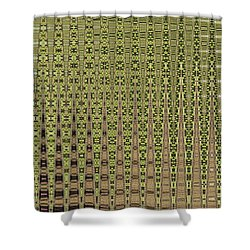 Prickly Pear Abstract # 5271wt Shower Curtain