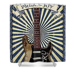Pride And Joy Print Shower Curtain