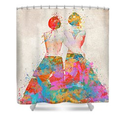 Shower Curtain featuring the digital art Pride Not Prejudice by Nikki Marie Smith