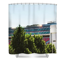 Shower Curtain featuring the photograph Pride Of Athens by Parker Cunningham