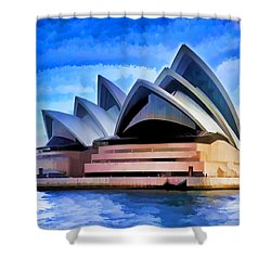 Pride Of Sydney Shower Curtain by Dennis Cox WorldViews