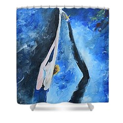Prima Ballerina #1 Shower Curtain