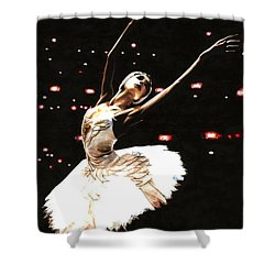 Prima Ballerina Shower Curtain by Richard Young