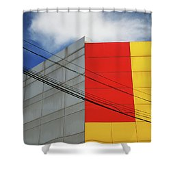 Shower Curtain featuring the photograph Primarily 1 by Skip Hunt