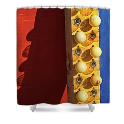 Shower Curtain featuring the photograph Primarily 2 by Skip Hunt