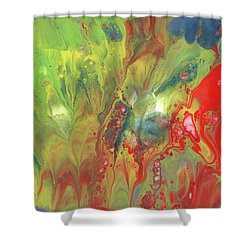 Primary Party Shower Curtain