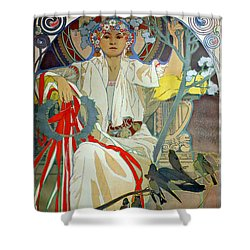 Shower Curtain featuring the photograph Primavera 1914 by Padre Art