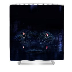 Primeval Shower Curtain by Mark Andrew Thomas