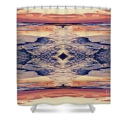 Primordial Passage Shower Curtain