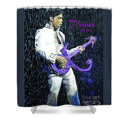 Prince 1958 - 2016 Shower Curtain