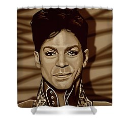 Prince 2 Gold Shower Curtain