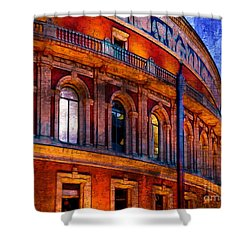 Royal Albert Hall, London Shower Curtain