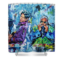 Prince And Stevie Shower Curtain