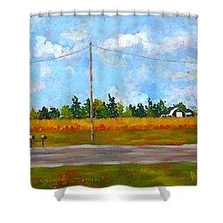 Prince Edward County Shower Curtain