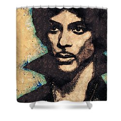 Prince Illustration Shower Curtain