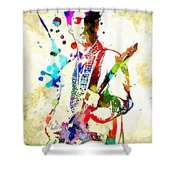Prince In Concert Shower Curtain