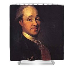 Prince Mikhail Shcherbatov 1781 Shower Curtain