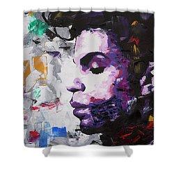 Prince Musician II Shower Curtain