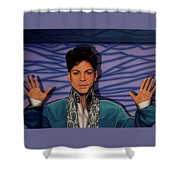 Prince 2 Shower Curtain by Paul Meijering