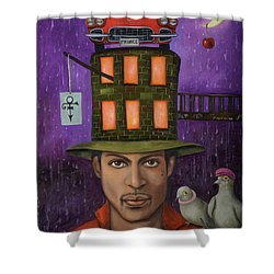 Prince Pro Image Shower Curtain by Leah Saulnier The Painting Maniac