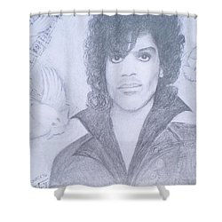 Prince When Doves Cry Shower Curtain by Christy Saunders Church