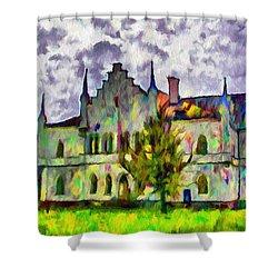 Princely Palace Shower Curtain by Jeff Kolker
