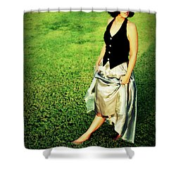 Princess Along The Grass Shower Curtain