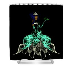 Princess And The Frog Shower Curtain