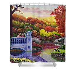 Princess Gardens Shower Curtain