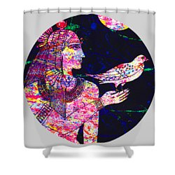Princess In Moongarden Shower Curtain