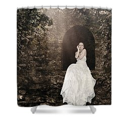 Princess In The Tower Shower Curtain